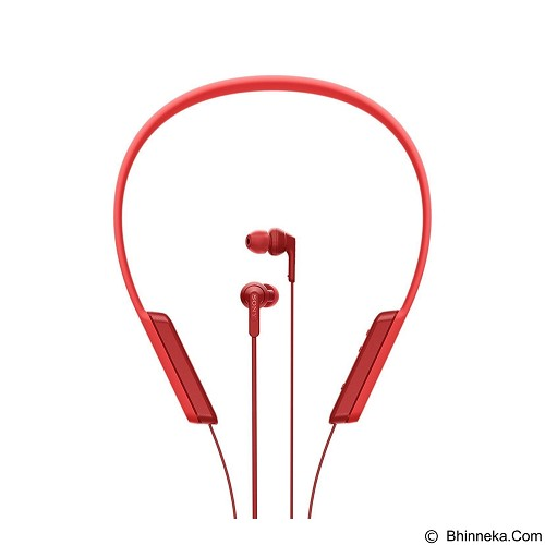 SONY In-ear Headphones Bluetooth [MDR-XB 70 BT] - Red - Headset Bluetooth