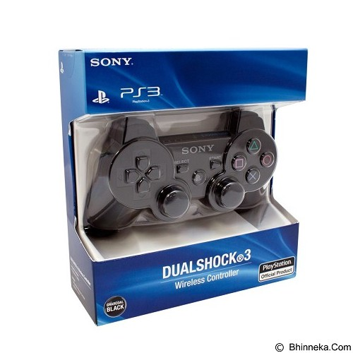 SONY Joystick PS3 Dual Shock 3 - Black - Video Game Accessory