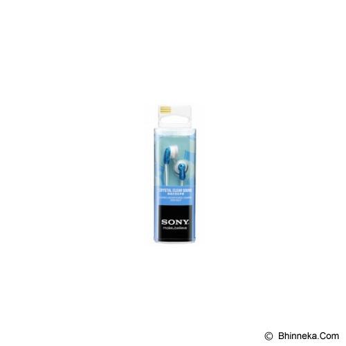 SONY Earbud Headphones [MDR-E9LP] - Blue - Earphone Ear Bud