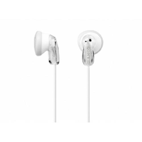 SONY Earbud Headphones [MDR-E9LP] - Clear White - Earphone Ear Bud