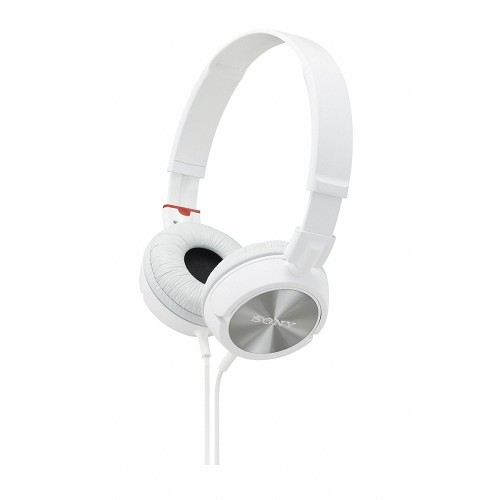 SONY Headphone [MDR-ZX300] - White - Headphone Portable