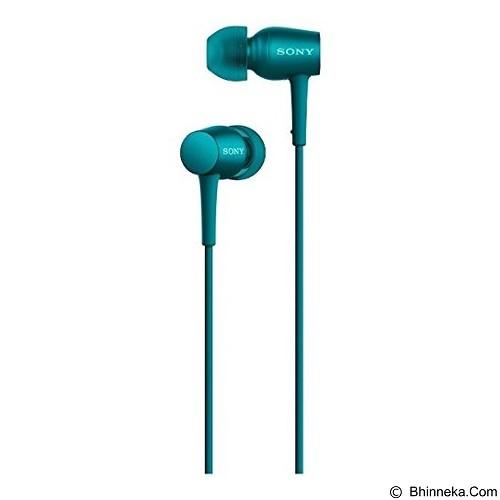 SONY Monitor In Ear Headphones [MDR-EX750AP] - Blue - Earphone Ear Monitor / Iem