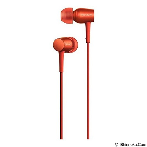 SONY Monitor In Ear Headphones [MDR-EX750AP] - Red - Earphone Ear Monitor / Iem