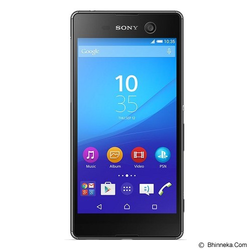SONY Xperia M5 Dual - Black (Merchant) - Smart Phone Android