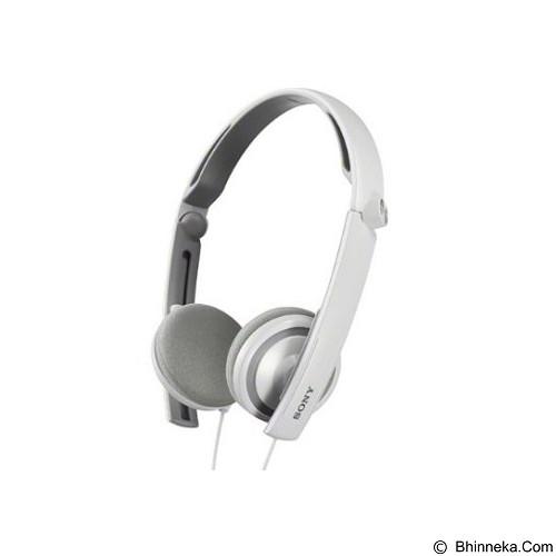 SONY On Ear Headphone [MDR-S40/WQE] - White - Headphone Portable