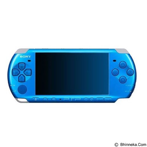 SONY PSP Slim 3000 - Blue (Merchant) - Game Console