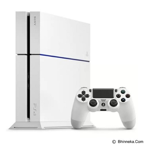 SONY Playstation 4 [CUH-1206A] - White - Game Console