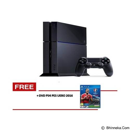 SONY Playstation 4 PES 2016 - Black - Game Console