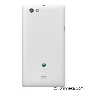 SONY ST 23 Xperia Miro - White - Smart Phone Android