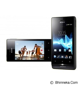 SONY ST23i Xperia Miro - Black (Merhant) - Smart Phone Android