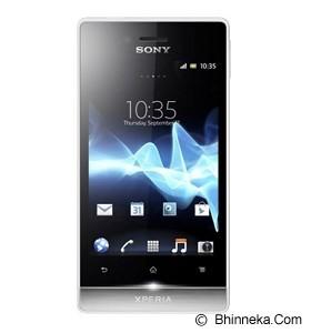 SONY ST23i Xperia Miro - White (Merchant) - Smart Phone Android