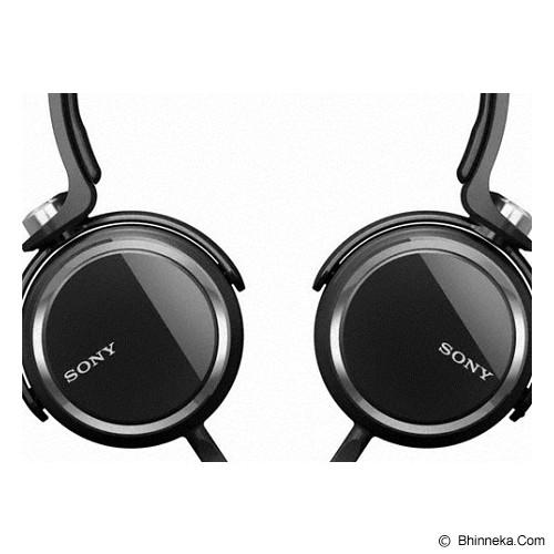 SONY Stereo H-Phone Extra Bass [MDR-XB250] - Black - Headphone Portable