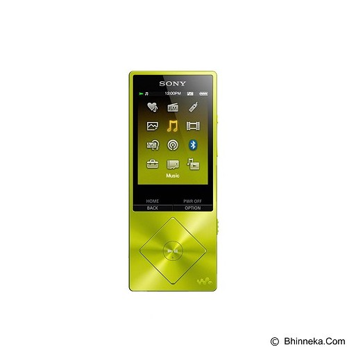 SONY Walkman [NW-A26HN] - Yellow - MP3 Players