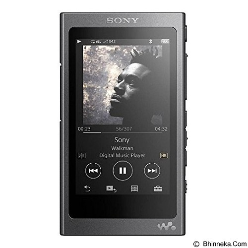 SONY Walkman [NW-A35] - Charcoal Black - Mp3 Players