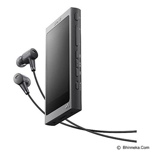 SONY Walkman [NW-A36HN] - Charcoal Black - Mp3 Players