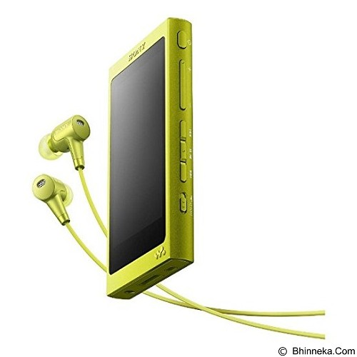 SONY Walkman [NW-A36HN] - Lime Yellow - Mp3 Players