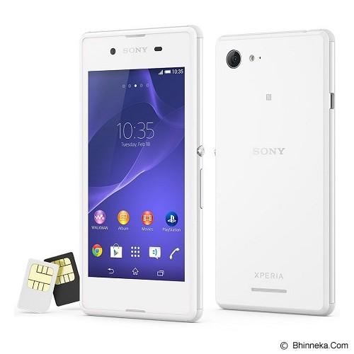 SONY Xperia E3 Dual - White - Smart Phone Android