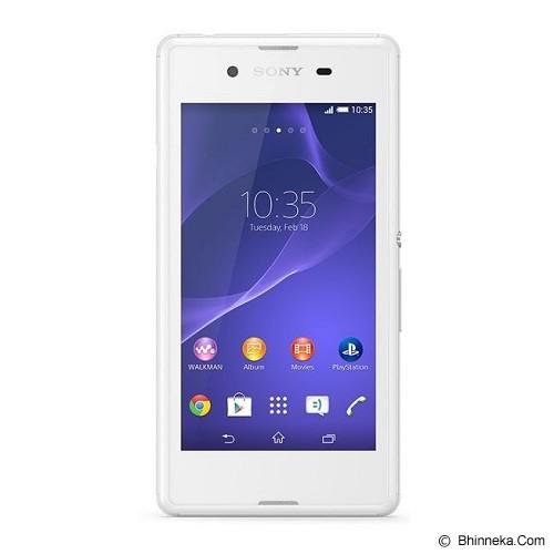 SONY Xperia E3 Single - White - Smart Phone Android