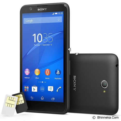 SONY Xperia E4 - Black - Smart Phone Android