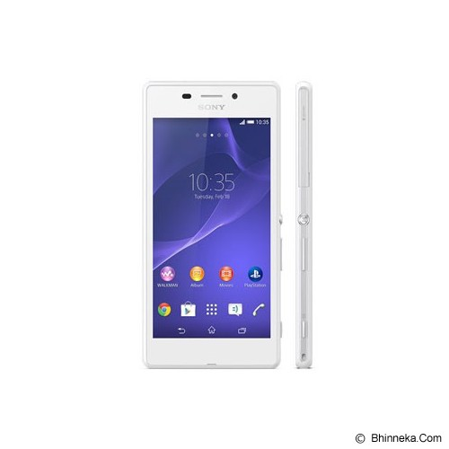 SONY Xperia M2 - White - Smart Phone Android