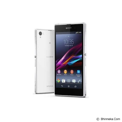 SONY Xperia Z1 Selfie Pro [C6903] - White - Smart Phone Android