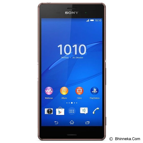 SONY Xperia Z3 - Copper - Smart Phone Android