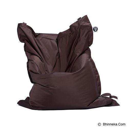 SOO SANTAI Big Mama Strap Beanbag - Brown - Bantal Duduk / Bean Bag
