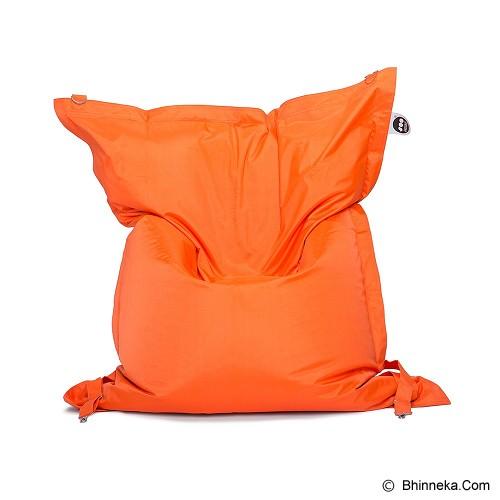 SOO SANTAI Big Mama Strap Beanbag - Orange - Bantal Duduk / Bean Bag