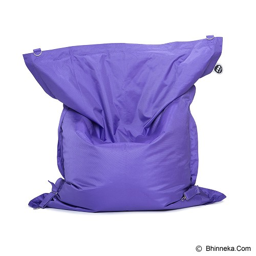 SOO SANTAI Big Mama Strap Beanbag - Purple - Bantal Duduk / Bean Bag