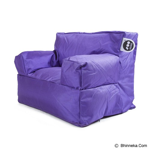 SOO SANTAI Billy the Kid Beanbag - Purple - Bantal Duduk / Bean Bag