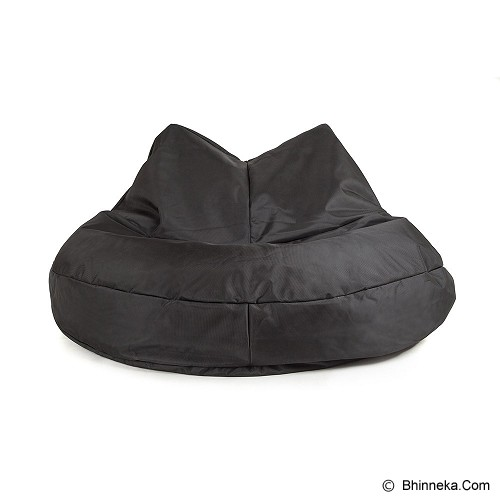 SOO SANTAI Kitty Cat Beanbag -  Black - Bantal Duduk / Bean Bag