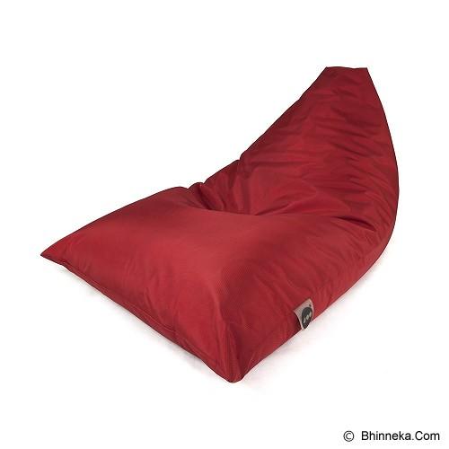 SOO SANTAI Lazy Bro Beanbag - Red - Bantal Duduk / Bean Bag