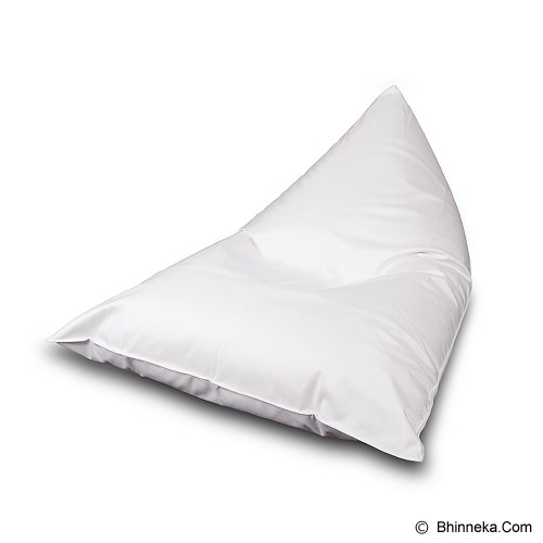 SOO SANTAI Lazy Bro Beanbag - White - Bantal Duduk / Bean Bag