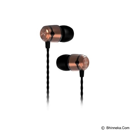 SOUNDMAGIC In Ear Headphone [E50S] - Gold - Earphone Ear Monitor / Iem