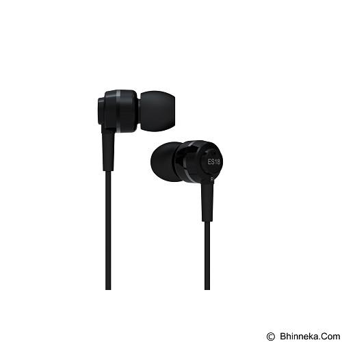 SOUNDMAGIC In Ear Monitor [ES18] - Black Silver (Merchant) - Earphone Ear Monitor / Iem
