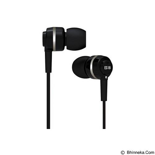 SOUNDMAGIC In Ear Monitor [ES18] - Black Silver - Earphone Ear Monitor / Iem