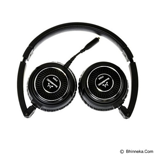 SOUNDMAGIC Portable Headphone with Mic [P30S] - Black - Headphone Portable