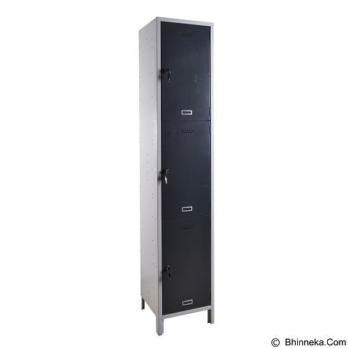 SPECTRUM Locker 3 Door - Filing Cabinet / Lemari Arsip