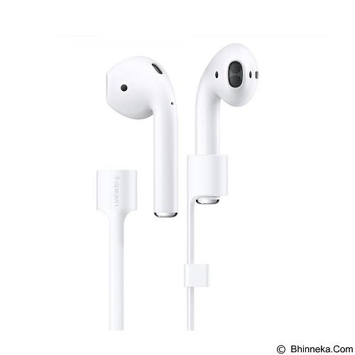 SPIGEN Apple AirPods Strap - White (Merchant) - Headphone Stand & Case