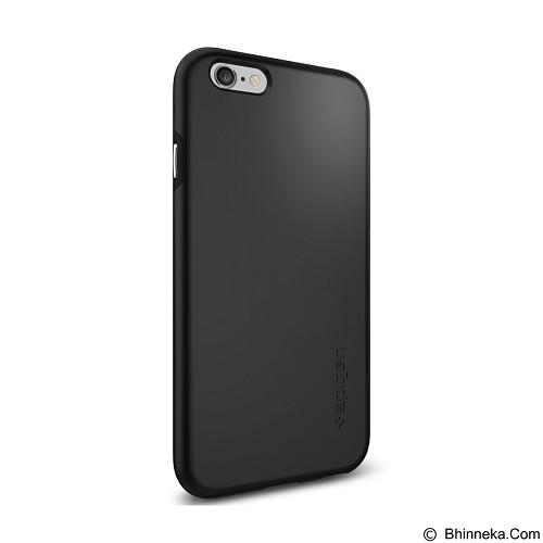SPIGEN Apple iPhone 6/6s Case Thin Fit Hybrid - Black (Merchant) - Casing Handphone / Case