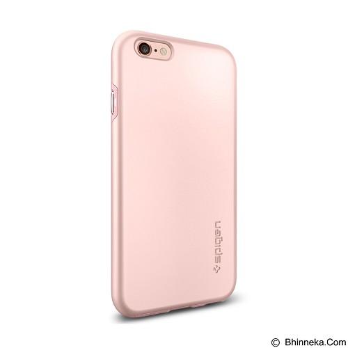 SPIGEN Apple iPhone 6/6s Case Thin Fit Hybrid - Rose Gold (Merchant) - Casing Handphone / Case