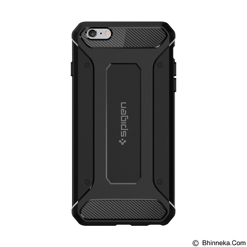 SPIGEN Apple iPhone 6 Plus/6s Plus Case Rugged Capsule - Black - Casing Handphone / Case