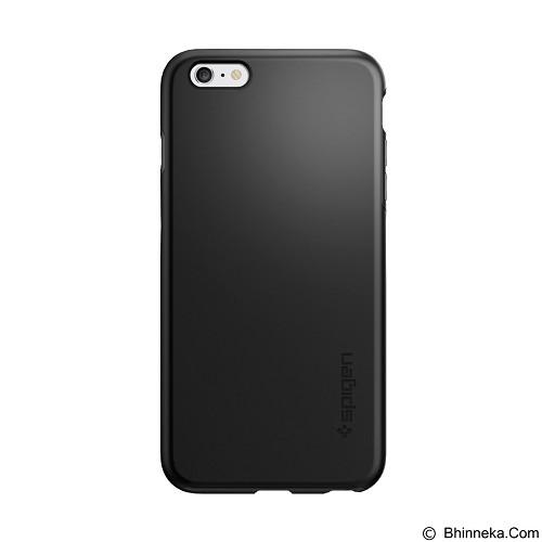 SPIGEN Apple iPhone 6 Plus/6s Plus Case Thin Fit Hybrid - Black - Casing Handphone / Case