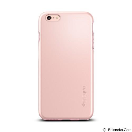 SPIGEN Apple iPhone 6 Plus/6s Plus Case Thin Fit Hybrid - Rose Gold - Casing Handphone / Case