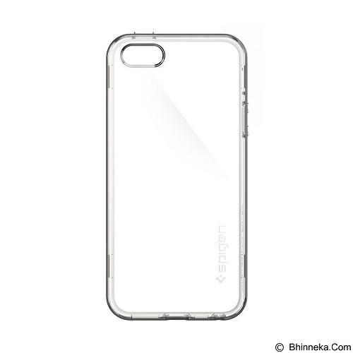 SPIGEN Apple iPhone SE/5S/5 Neo Hybrid Crystal - Gunmetal (Merchant) - Casing Handphone / Case