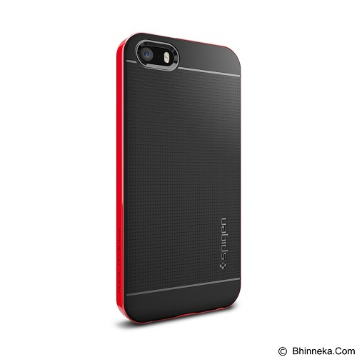 SPIGEN Neo Hybrid Apple iPhone 5SE / 5s / 5 - Dante Red (Merchant) - Casing Handphone / Case