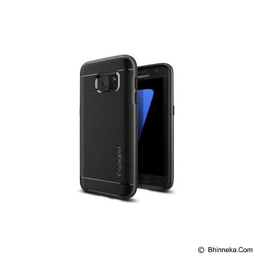 SPIGEN Neo Hybrid Case Softcase Samsung Galaxy Note 7 - Gunmetal (Merchant) - Casing Handphone / Case