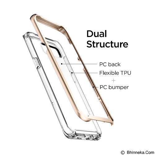 SPIGEN Neo Hybrid Crystal Case for Samsung Galaxy S8 Plus - Gold Maple (Merchant) - Casing Handphone / Case