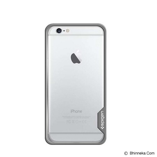 SPIGEN Neo Hybrid EX Dual Shell iPhone 6 Plus - Silver - Casing Handphone / Case