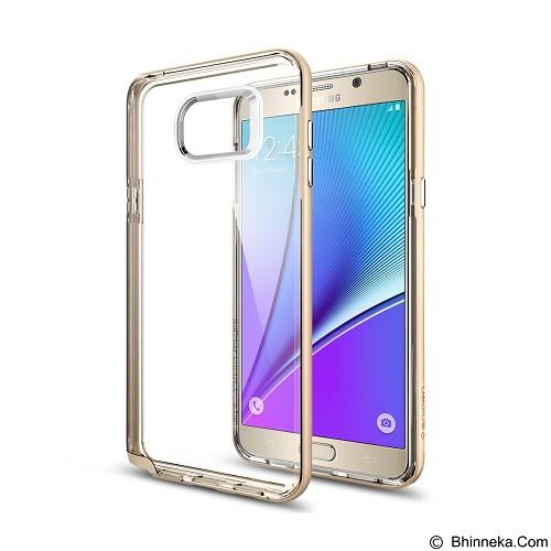 SPIGEN Samsung Galaxy Note5 Case Neo Hybrid Crystal - CC Gold - Casing Handphone / Case